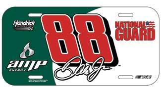 Dale Earnhardt Jr Amp / NG License Plate