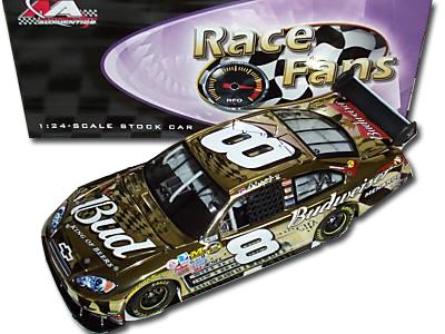 Earnhardt Jr '07 BUD Gold Chrome