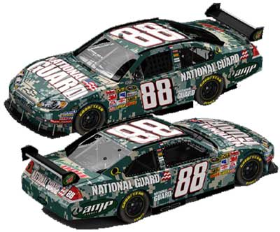 Dale Earnhardt Jr Defending Freedom