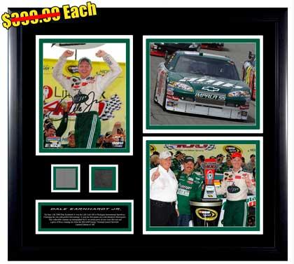 Dale Earnhardt Jr 1st Win Autographed