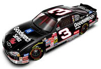 Dale Earnhardt 2001 Goodwrench ELITE Diecast