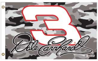 Dale Earnhardt 2006 Camo Flag