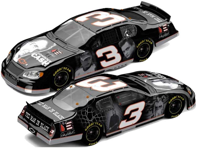 Dale Earnhardt Man In Black NASCAR Diecast