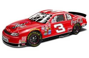 Dale Earnhardt 1998 Coke Japan NASCAR Diecast