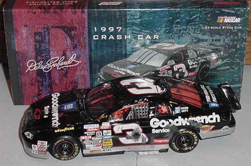 Dale Earnhardt 1997 Goodwrench Crash Car