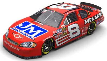 Dale Earnhardt Jr 2006 Menards Daytona Busch Winner