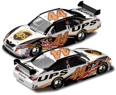 Dale Jarrett '07 UPS Camry COT NASCAR Diecast