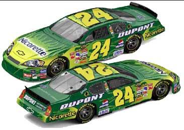 Jeff Gordon 2007 Nicorette NASCAR Diecast