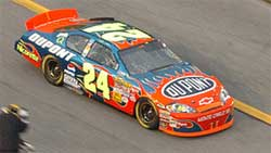 Jeff Gordon 2007 Daytona Twin 150s Raced Version