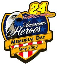 Jeff Gordon American Heroes Hat Pin