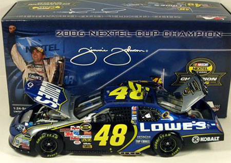 Jimmie Johnson 2006 Champion