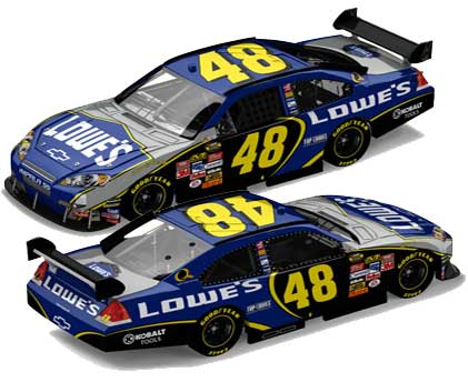 Jimmie Johnson 2007 Lowes Car of Tomorrow