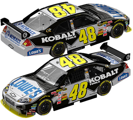 jimmie johnson 48 logo. Jimmie Johnson 2009 Lowes