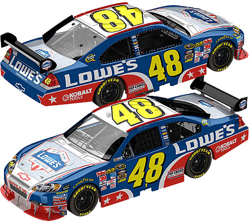Jimmie Johnson 2009 Memorial Day Special NASCAR Diecast