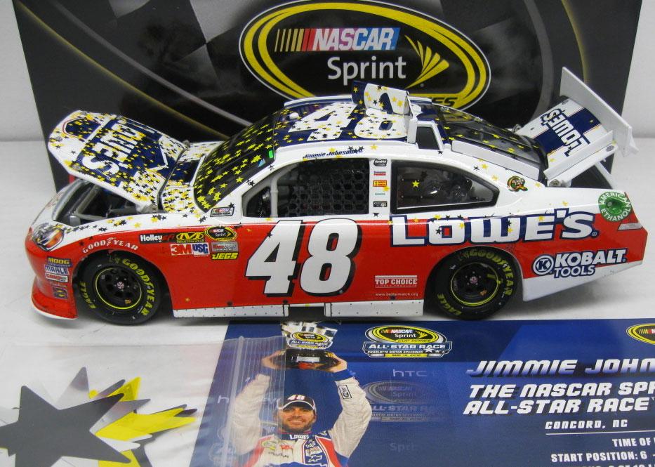 Jimmie Johnson NASCAR Diecast Jimmie Johnson NASCAR Racing ...