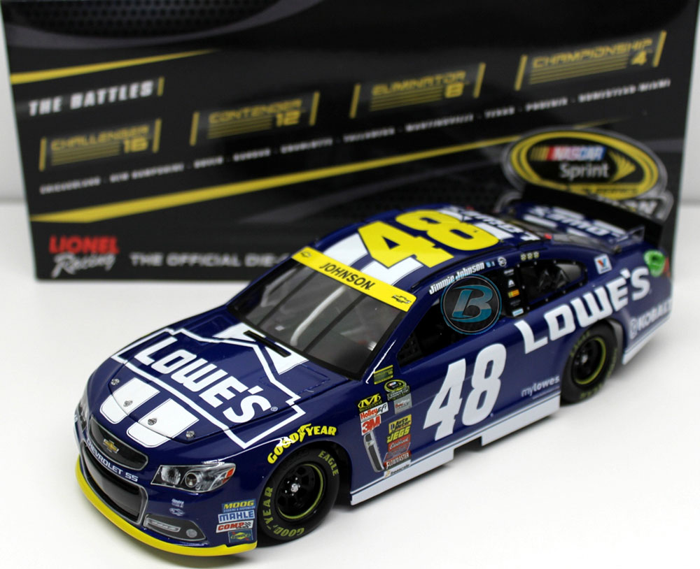 Jimmie Johnson 2017 Chase For The Championship