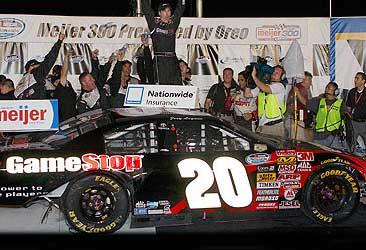 Joey Logano 2008 Kentucky 1st Win