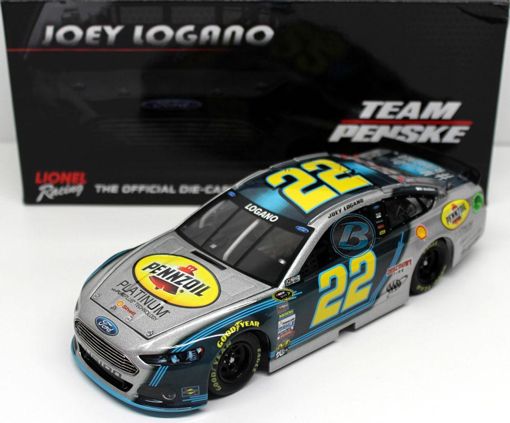 Joey Logano Shell Nascar Diecast Joey Logano Pennzoil Nascar Racing