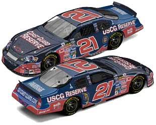 Kevin Harvick '06 Coast Guard Reserve NASCAR Diecast