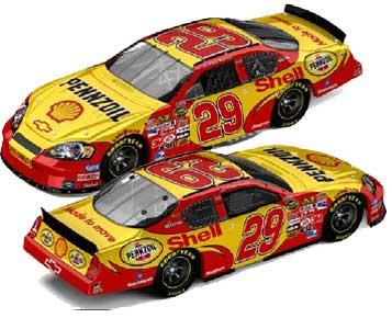 Kevin Harvick 2007 Shell NASCAR Diecast