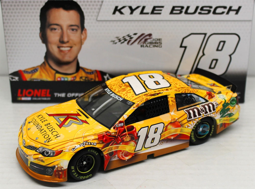 kyle busch foundation christmas diecast