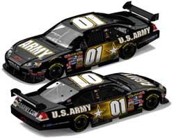 Mark Martin 2007 Army Car of Tomorrow COT