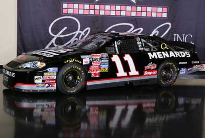 Paul Menard Black #11 Tribute to Earnhardt