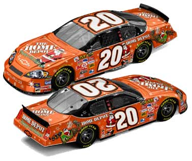 Tony Stewart 2006 Sam Bass Holiday Home Depot Diecast