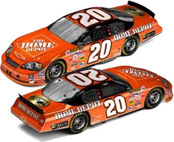 Tony Stewart Home Depot NASCAR Diecast