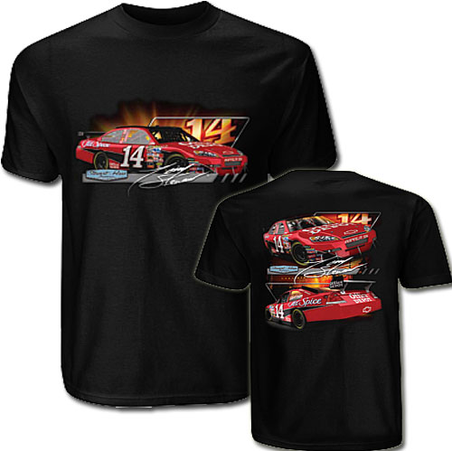 Tony stewart nascar apparel tony stewart nascar tees hat for Office depot shirt printing