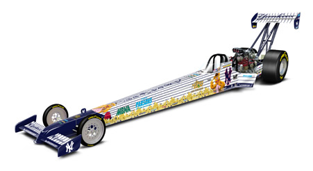 "65 Action '02 Muppets ""Fozzie Bear"" Top Fuel"
